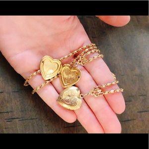 Jewelry - Cute Heart Couples Lockets
